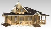 Проектирование деревянных домов,  бань,  беседок