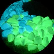 Светящиеся натуральные камни Acmelight Naturе Stones для декора